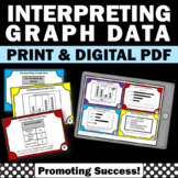 Interpreting Graphs and Charts, Common Core 3rd Grade Math Center Games