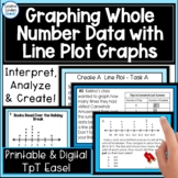 Graphing, Interpreting and Analyzing Line Plot Data With W