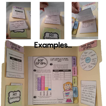 Graph Lapbook *Editable* & MORE