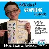 Graph Lapbook *Editable* & MORE
