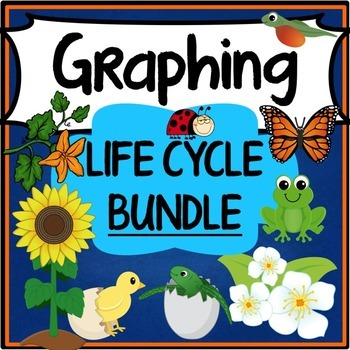 Life Cycle Graphing Activities Bundle