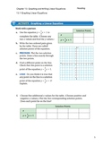 Graphing Linear Equ Guided Notes Big Ideas Math Red Accel: