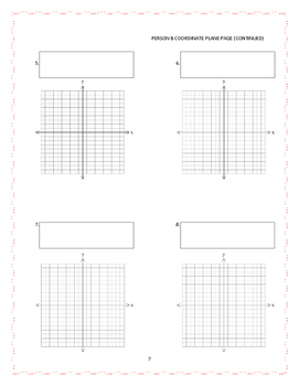 Graphing Linear Equations--A Partner Card Sort Activity