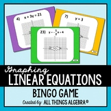 Graphing Linear Equations Bingo