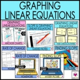 Graphing Linear Equations Notes and Activities Unit Bundle