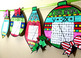 Christmas Algebra Graphing Linear Equations Ornaments