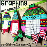Graphing Linear Equations Christmas Algebra Activity