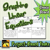 Graphing Linear Equations: Project-Based Tasks
