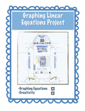 End of the Year Project - Graphing Linear Equations - EDITABLE
