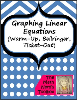 Graphing Linear Equations--Quick Assessment