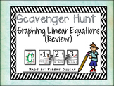 Graphing Linear Equations Review Scavenger Hunt