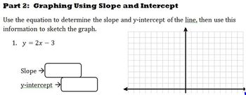 Graphing Linear Equations Activity