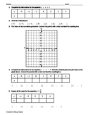 Graphing Linear Equations with Tables of Values Worksheet I