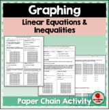 Graphing Linear Equations & Inequalities on the Coordinate Plane 1 & 2 Variables