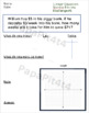 Graphing Linear Equations with Word Problems