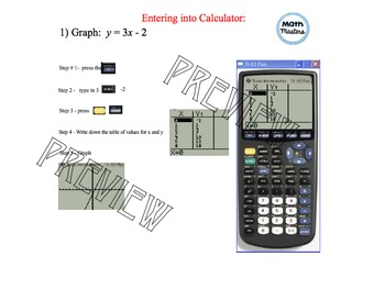 Graphing Linear Functions with the Graphing Calculator