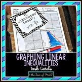 Graphing Linear Inequalities: 24 Task Cards