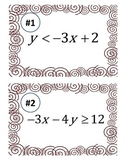 Graphing Linear Inequalities Carousel Activity