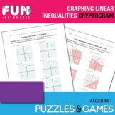 Graphing Linear Inequalities Cryptogram