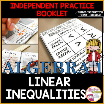 Graphing Linear Inequalities Independent Practice Booklet
