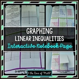 Graphing Linear Inequalities: Interactive Notebook Pages