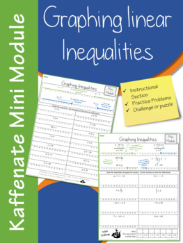 Graphing Linear Inequalities  (Mini Module)