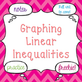 Graphing Linear Inequalities Notes Freebie