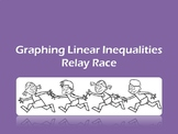 Graphing Linear Inequalities Relay Race