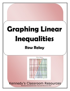 Graphing Linear Inequalities - Row Relay