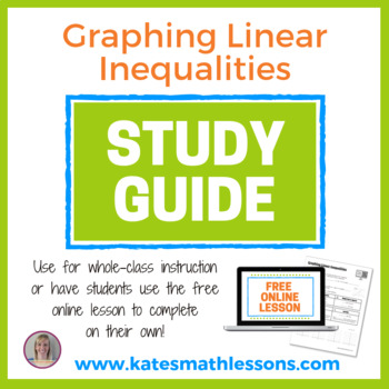 Graphing Linear Inequalities Study Guide