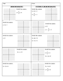 Graphing Linear Inequalities & Systems - Test Review