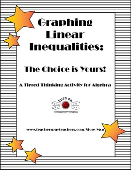 Graphing Linear Inequalities: Tiered Thinking Activity