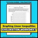 Graphing Linear Inequalities Worksheet