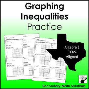 Graphing Inequalities Practice (A3D)