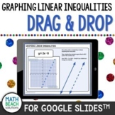 Graphing Linear Inequalities in Slope-Intercept Form Activity for Google Slides™