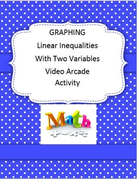 Graphing Linear Inequalities in Two Variables Activity