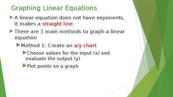 Graphing Linear and Exponential Functions