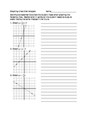 Graphing Lines Error Analysis