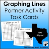 Graphing Lines Activity Task Cards (A3C)