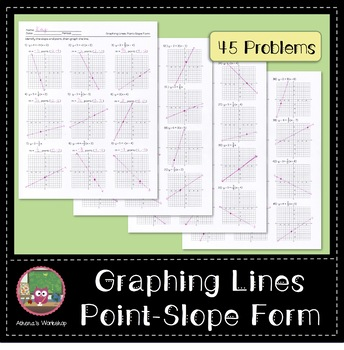 Graphing Lines: Point-Slope Form
