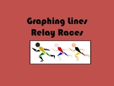Graphing Lines Relay Race Activity