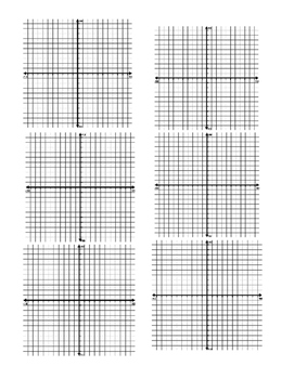Graphing Lines Review