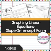 Graphing Lines- Slope-Intercept Form Guided Notes