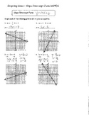 Graphing Lines Slope-Intercept Form NOTES ANSWER KEY