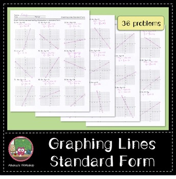Graphing Lines: Standard Form