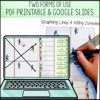 Graphing Lines & Zombies ~ Graphing in All 3 Forms of ...