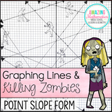Graphing Lines & Zombies ~ Graphing Lines in Point Slope Form Activity