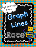 Graphing Lines in Slope Intercept Form Race Game