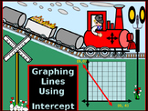 Algebra Power-Point:  Graphing Lines using the Intercepts