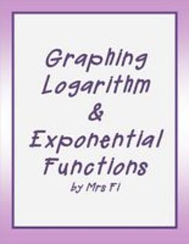 Exponential Functions Lesson 7 Graphing Logarithmic Functi